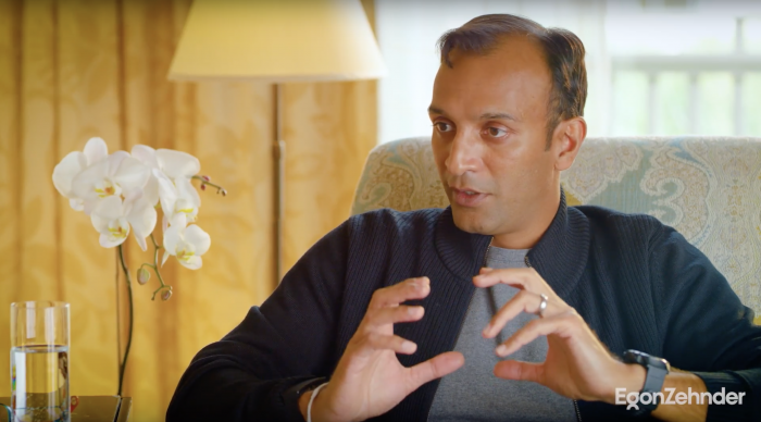 Egon Zehnder's Ricardo Sunderland spoke with mathematician and computer scientist DJ Patil, former Chief Data Scientist of the United States Office of Science and Technology Policy, on his EBP experience.  video