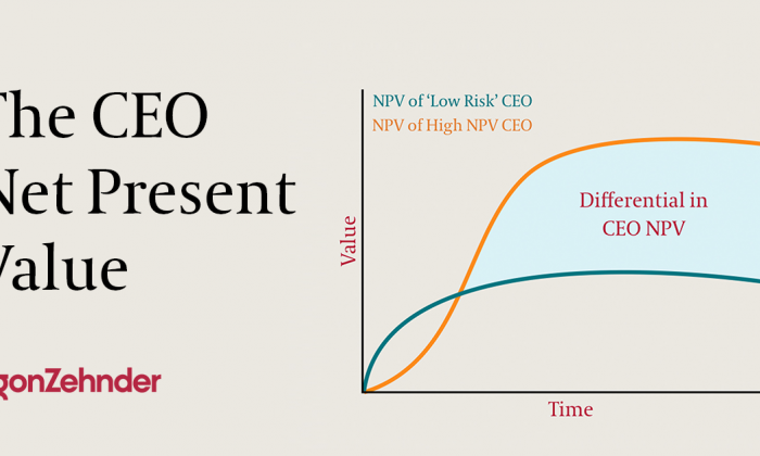 CEO Net Present Value