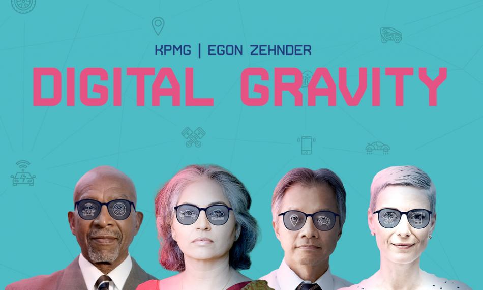Digital Gravity – A Global Automotive Study (by KPMG and Egon Zehnder)