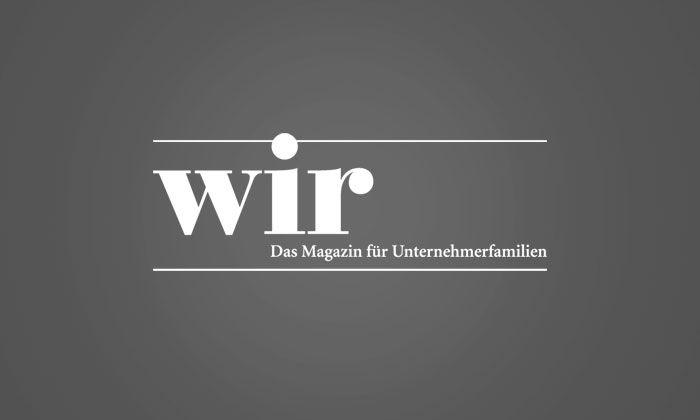wir-Magazin – Change-Agent statt Zahlenmensch: Jörg Ritter über die neuen Anforderungen an CFOs in Familienunternehmen