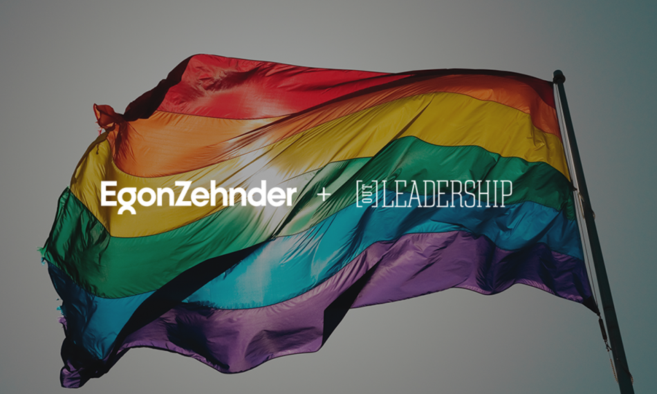 Egon Zehnder and Out Leadership Announce Partnership