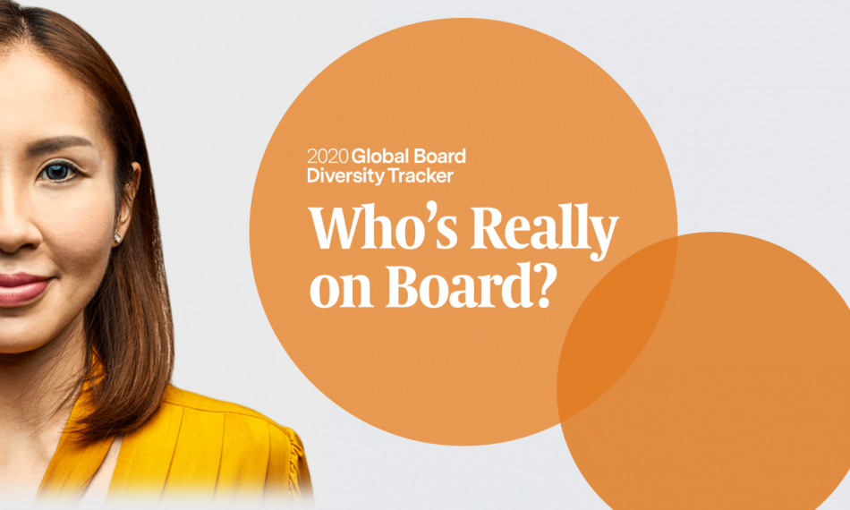 Egon Zehnder Global Board Diversity Tracker Shows Slow and Insufficient Progress — Urging Measurable Action