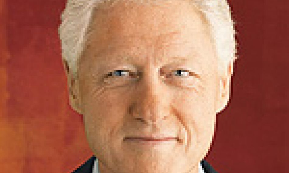 Interview with former US president Bill Clinton