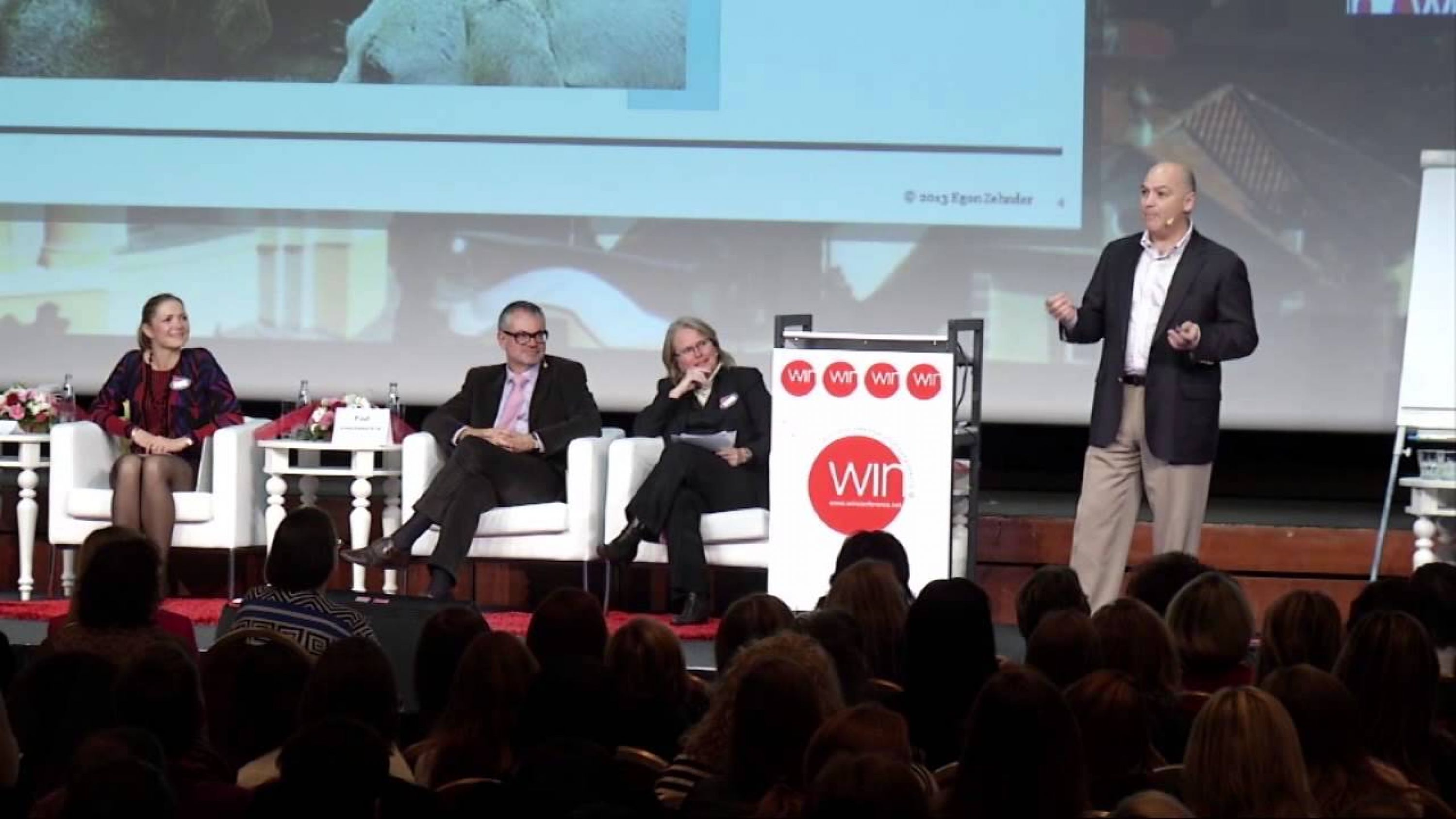View Michel's plenary speech at the 2013 WINConference