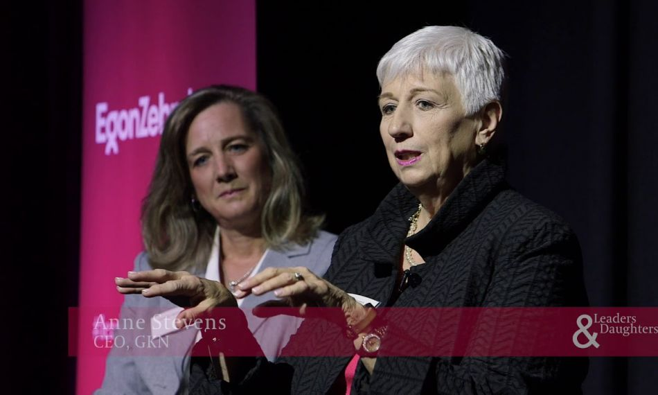Anne Stevens Interview at London Leaders & Daughters 2018