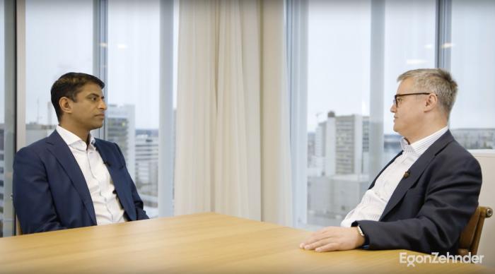 Vas Narasimhan, CEO of Novartis, speaks to James Martin, Egon Zehnder London, about the impact of the Executive Breakthrough Program. video