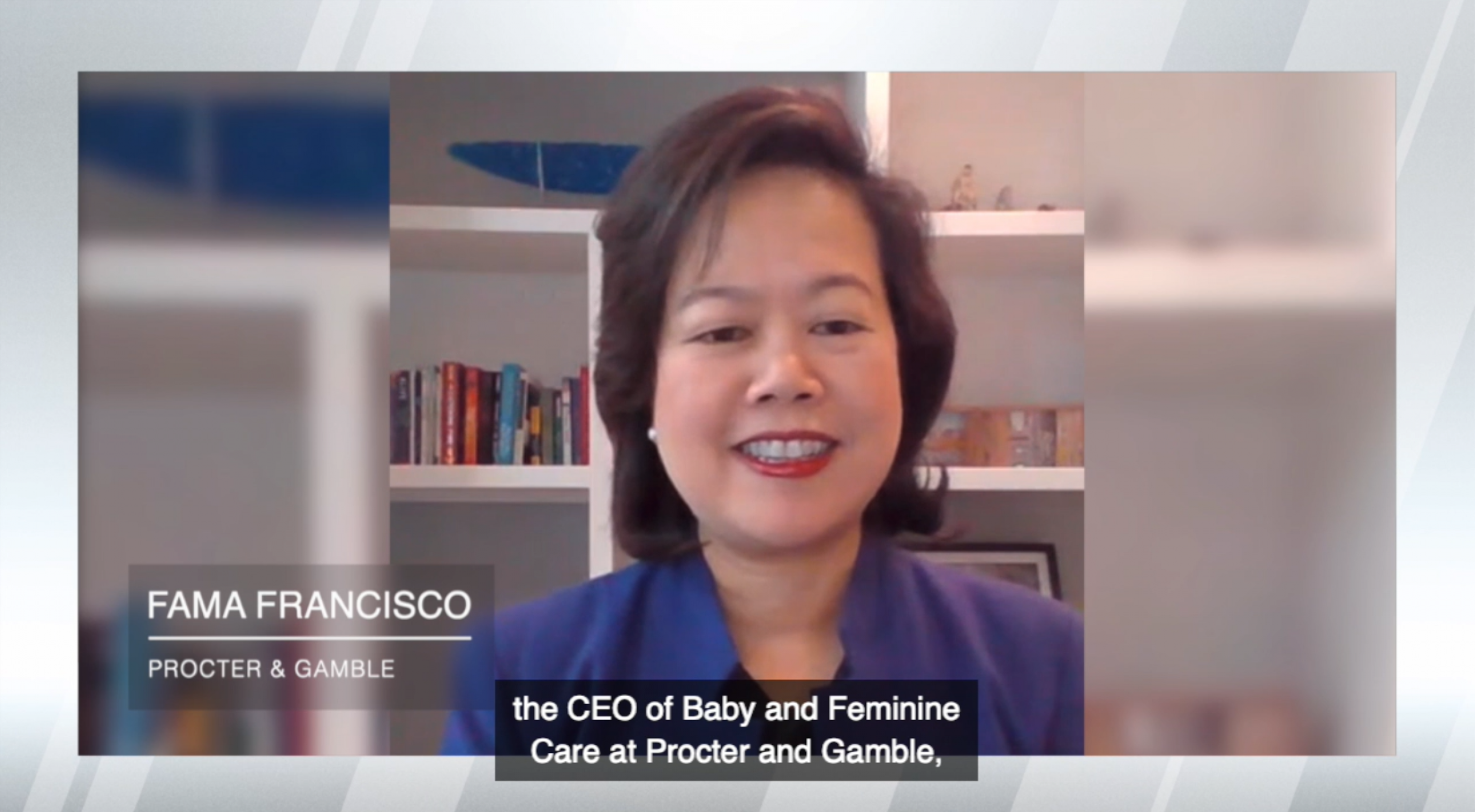 In Conversation with Fama Francisco, CEO Feminine and Baby Care at P&G