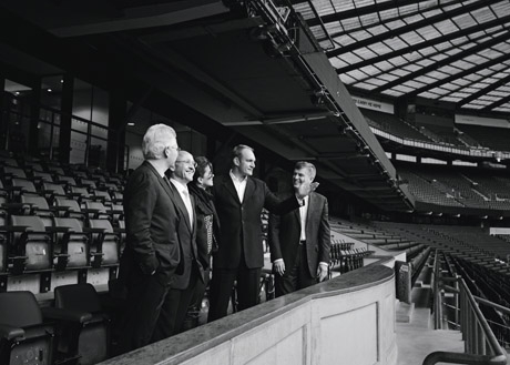 A blue-blooded view of the world's largest rugby stadium from the Royal Box at Twickenham.